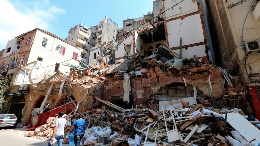 Aumentan a 182 los muertos por explosión de Beirut - Foto de EFE