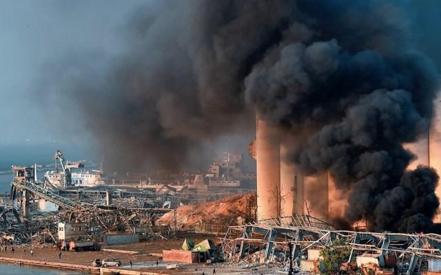 Imputan a primer ministro de Líbano y tres exministros por explosión en puerto de Beirut - Foto de EFE