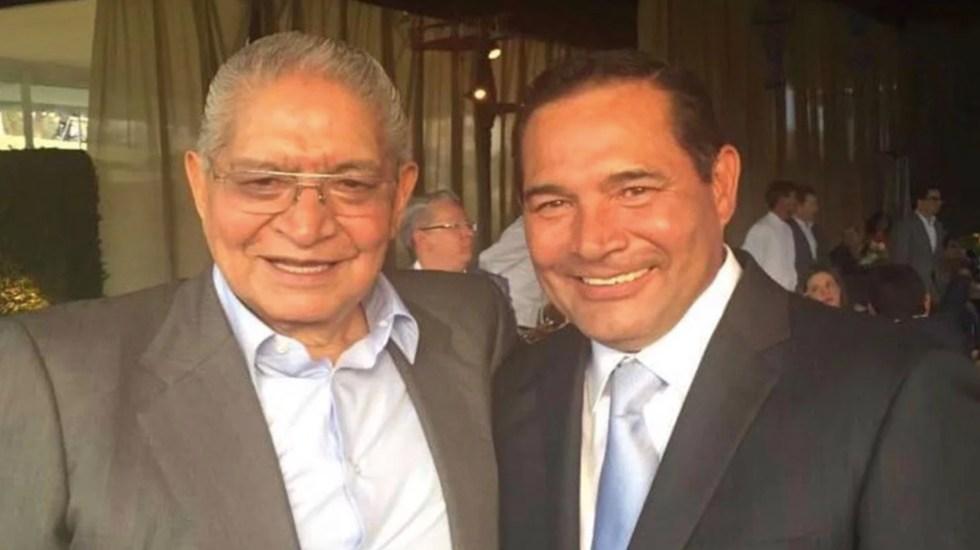 Pide Luis Miranda no especular acerca de móvil del asesinato de su padre - Foto de Central Municipal