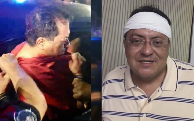 #Video Intentan linchar a exgobernador de Tabasco tras chocar en presunto estado de ebriedad - Detención de Manuel Andrade Díaz y su aparición tras atención hospitalaria. Foto Especial