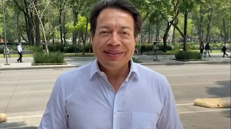 Mario Delgado buscará participar por dirigencia de Morena - Mario Delgado. Captura de pantalla
