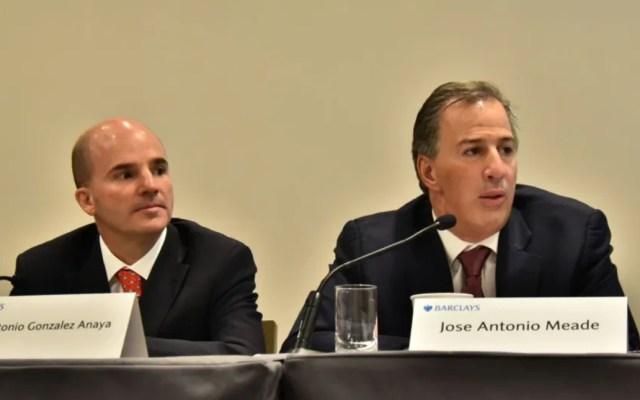Meade y González Anaya, formalmente localizables ante la FGR - Meade y González Anaya 2