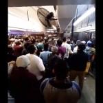 #Video Abarrotan el Metro Pantitlán sin sana distancia y con poco uso de cubrebocas