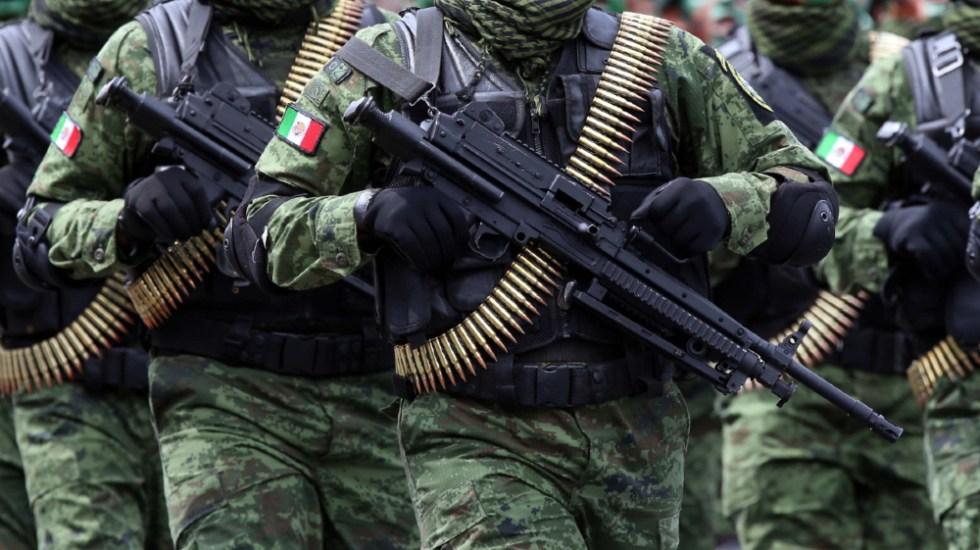 AMLO lamenta emboscada a militares en Aguililla, Michoacán; hay dos muertos - militares soldados Sedena