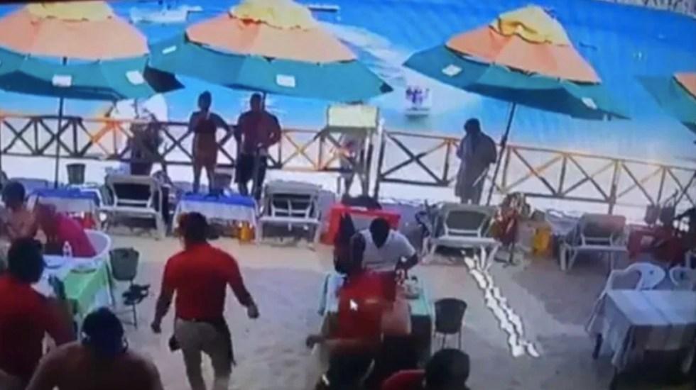 Suspenden a empresa de renta de motos acuáticas tras accidente en Cabo San Lucas - Captura de pantalla