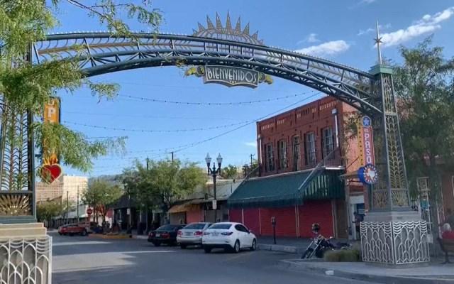 Ausencia de mexicanos por COVID-19 pone en riesgo a negocios de EE.UU. - Negocios cerrados en El Paso, Texas. Foto de EFE