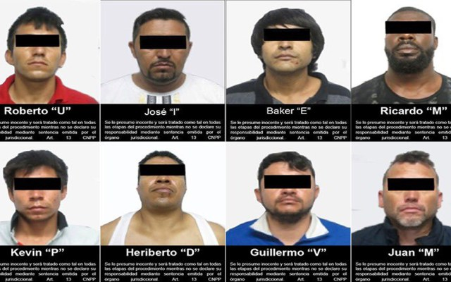 Vinculan a proceso en Zacatecas a ocho hombres por posesión de 263 kg de mariguana - Ocho hombres vinculados a proceso en Zacatecas por posesión de mariguana y asociación delictuosa. Foto de FGR