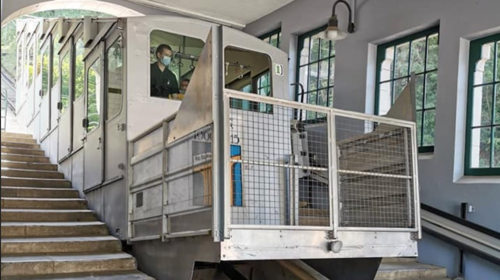 Quince heridos en el funicular de Lourdes tras fuerte tormenta - Foto de Fanny Viard
