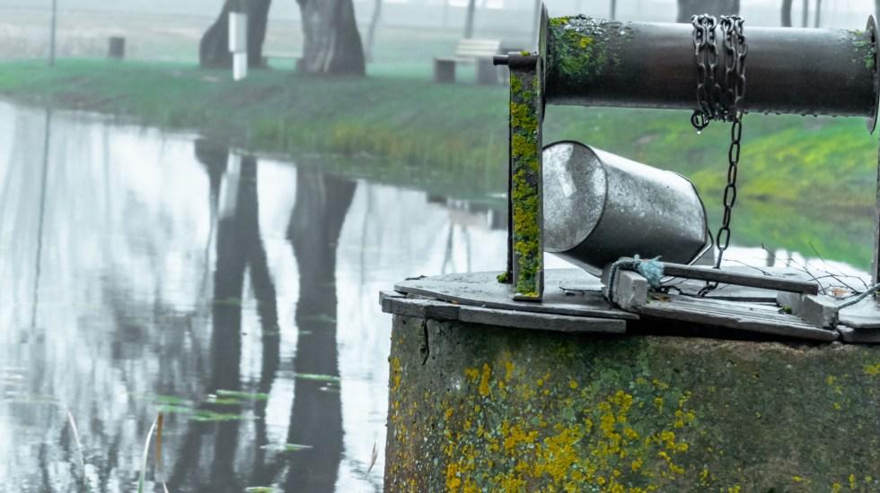 Hombre en Chiapas queda atrapado en pozo por dos días - Pozo Agua