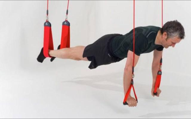 Rehabilitación física con Redcord - Redcord. Foto de Archivo / Redcord / Tomás Weimar.