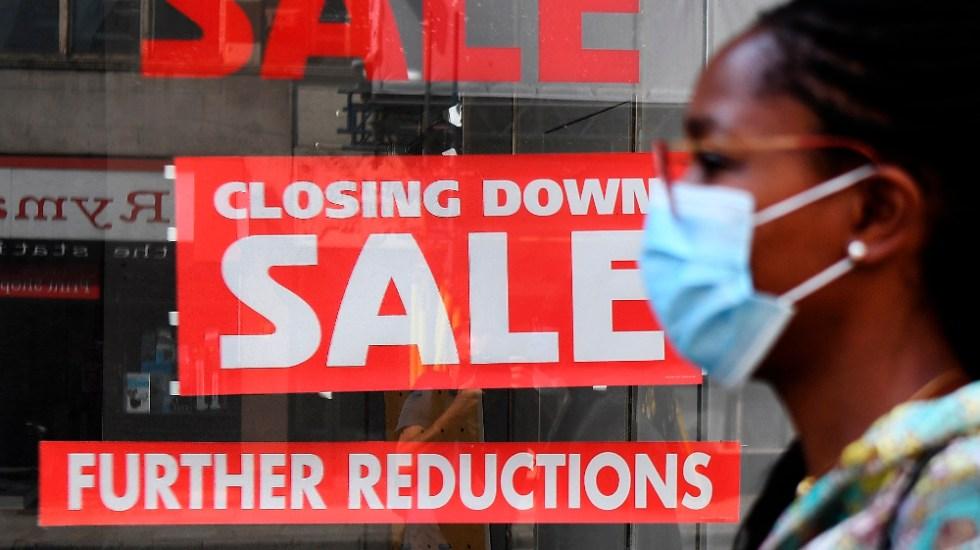 Reino Unido entra en recesión por primera vez en más de 10 años - Foto de EFE