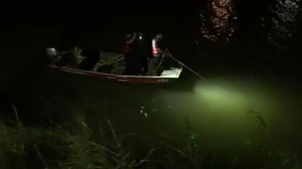 Joven muere ahogado en Reynosa tras rescatar a su novia de un intento de suicidio - Reynosa Tamaulipas canal caída joven