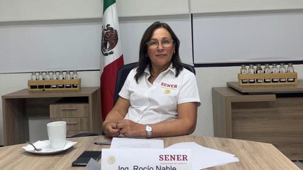 Murió la mamá de la secretaria de Energía, Rocío Nahle - Foto de Twitter Rocío Nahle/ Archivo
