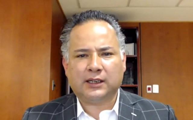 Denuncia UIF intentos de extorsión en la Ciudad de México - Santiago Nieto Castillo, titular de la UIF. Captura de pantalla