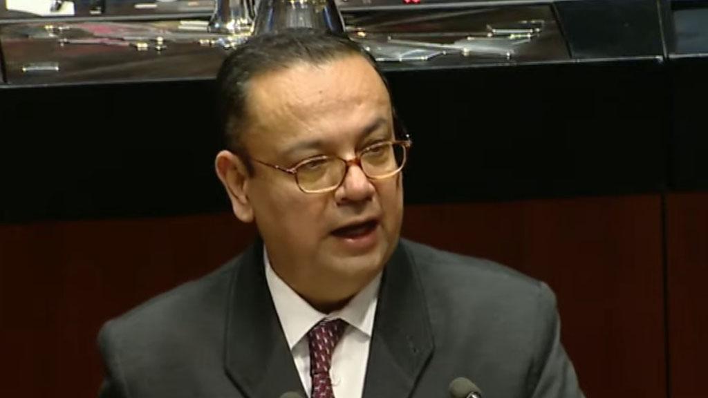 Germán Martínez niega haber hecho contratos con Jesús Caraveo durante su gestión en el IMSS - Senador Germán Martínez. Foto de Senado de la República