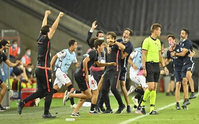 Sevilla vence a Manchester United y va a su sexta final de Europa League - Foto de EFE/EPA/Martin Meissner / POOL.