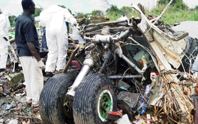 Mueren siete personas al estrellarse un avión en Sudán del Sur - Foto de EFE