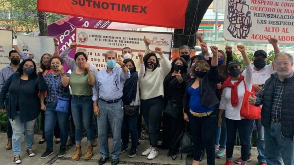 Sindicato de Notimex denuncia persecución política contra su secretaria General; acusan uso indebido de la SFP - Foto de SutNotimex