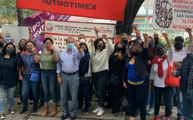 Sindicato de Notimex denuncia persecución política contra su secretaria General - Foto de SutNotimex
