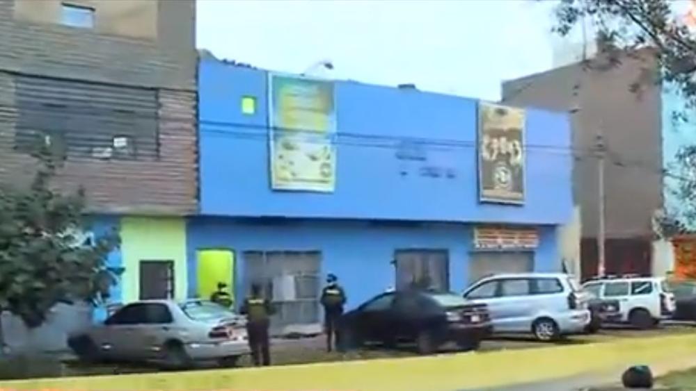 Estampida en fiesta clandestina en Perú deja 13 muertos - Thomas Restobar, sede de fiesta clandestina en Perú que dejó 13 muertos. Captura de pantalla