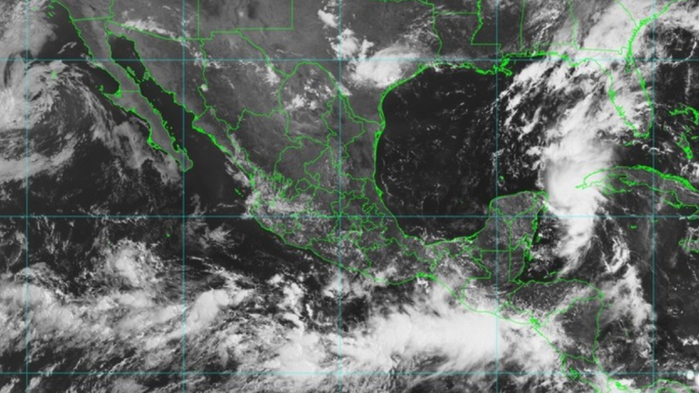 Caribe mexicano en alerta por tormenta tropical Marco - Foto de Conagua