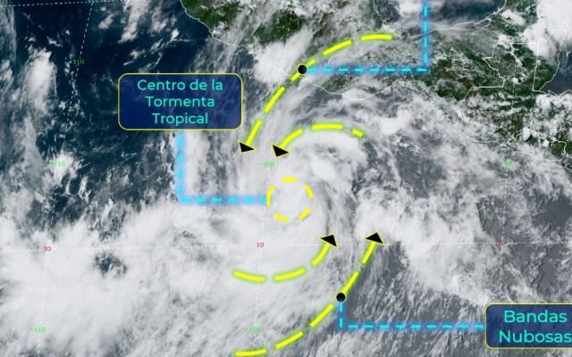Se forma la tormenta tropical 'Genevieve', provocará lluvias en cuatro estados - Tormenta tropical Genevieve