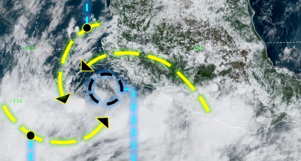 Se forman Hernán e Iselle en el Pacífico; prevén lluvias en cinco estados - Tormenta Tropical Hernán