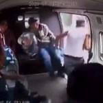 #Video Pasajeros dan golpiza a ladrón sobre la México-Texcoco