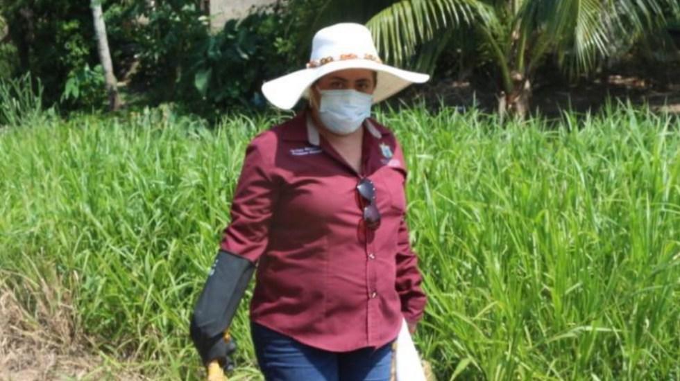 Sánchez Cordero lamenta muerte por COVID-19 de alcaldesa de Moloacán, Veracruz - Victoria Rasgado Pérez, alcaldesa de Moloacán, Veracruz