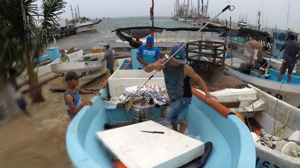 Se forma la tormenta tropical 'Marco' cerca de la Península de Yucatán - Yucatán península Depresión tropical