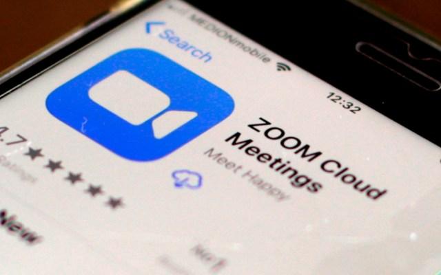 Zoom dice que reparó el problema que causó cortes a nivel mundial - Foto de EFE