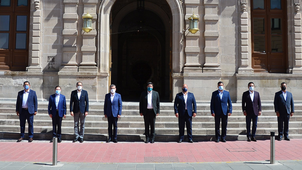 """""""La fragmentación de México nunca ha estado en nuestra agenda"""", sostiene Alianza Federalista - En la foto, los gobernadores de la Alianza Federalista. Foto de @AispuroDurango"""