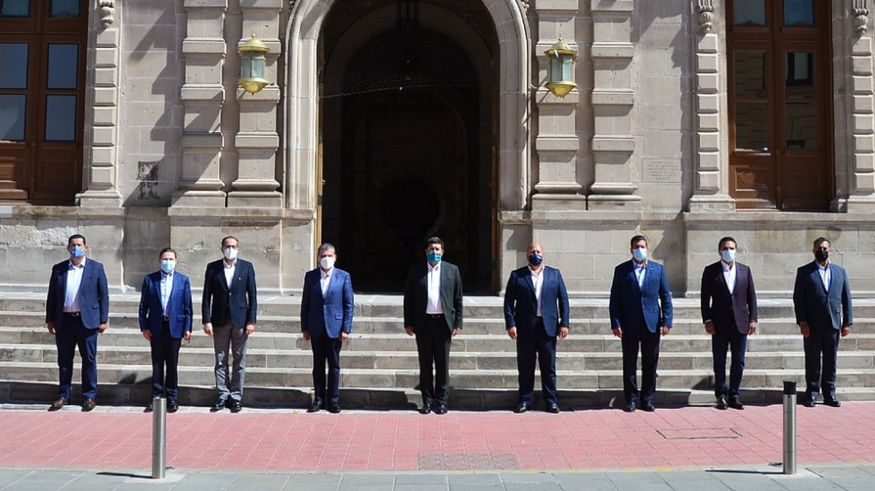 Gobernadores de Alianza Federalista oficializan salida de la Conago - En la foto, los gobernadores de la Alianza Federalista. Foto de @AispuroDurango