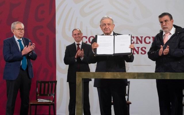 ¿De qué acusa AMLO a expresidentes? Este es el texto que envió al Senado - Foto de lopezobrador.org.mx