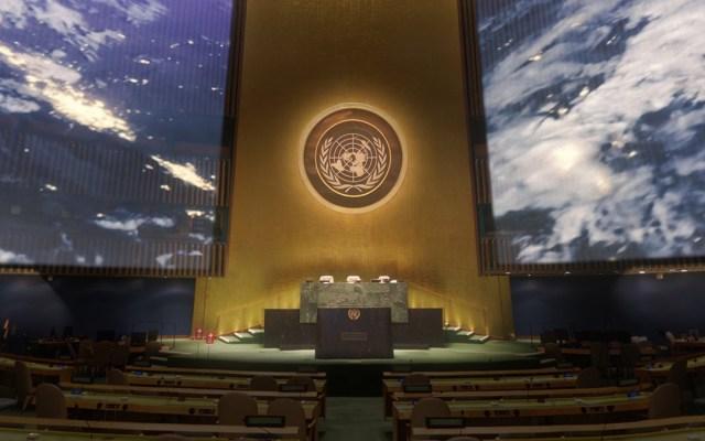 ONU celebra sus 75 años con cumbre deslucida y en medio de apuros - Asamblea General de la ONU. Foto de @unitednations