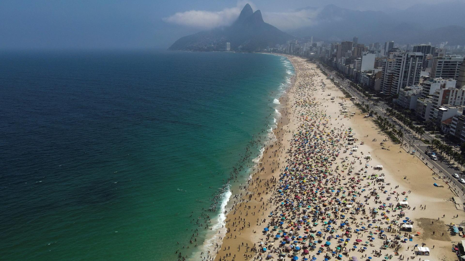 Brasil playas Rio de Janeiro COVID-19 2