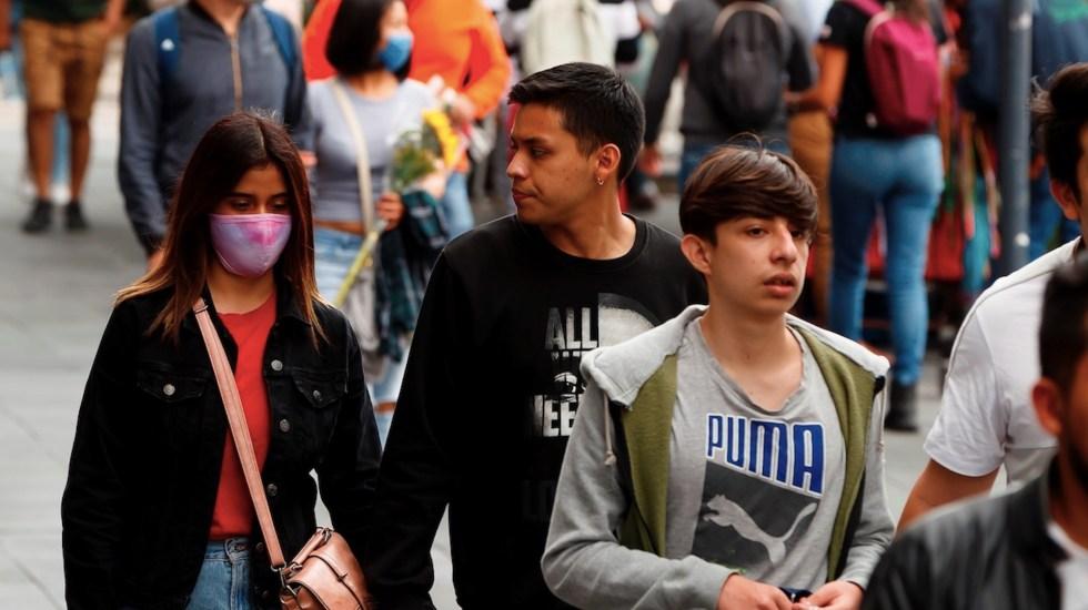 Prevé Secretaría de Salud rebrote de COVID-19 en temporada de influenza - Foto de EFE