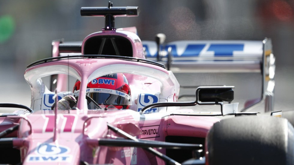 Termina 'Checo' Pérez en décimo lugar el GP de Italia - 'Checo' Pérez en la Pole previo al GP de Italia. Foto de @SChecoPerez