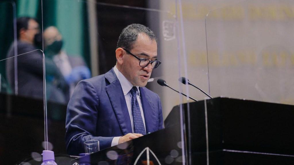 Participa Arturo Herrera en reunión de ministros de finanzas y gobernadores de bancos centrales del G20; abordan recuperación tras COVID-19 - Comparecencia de Arturo Herrera ante la Cámara de Diputados. Foto de @Hacienda_Mexico