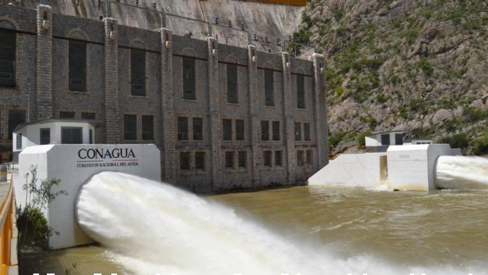 Conagua pide a Gobierno de Chihuahua cumplir Tratado de Aguas de 1944 tras toma de presa en Delicias - Vista de la presa La Boquilla en Chihuahua. Foto de El Heraldo de Chihuahua