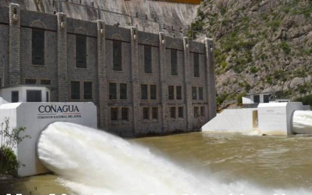 Negociación con EE.UU. se cierra con adeudo cero de agua: Roberto Velasco - Vista de la presa La Boquilla en Chihuahua. Foto de El Heraldo de Chihuahua