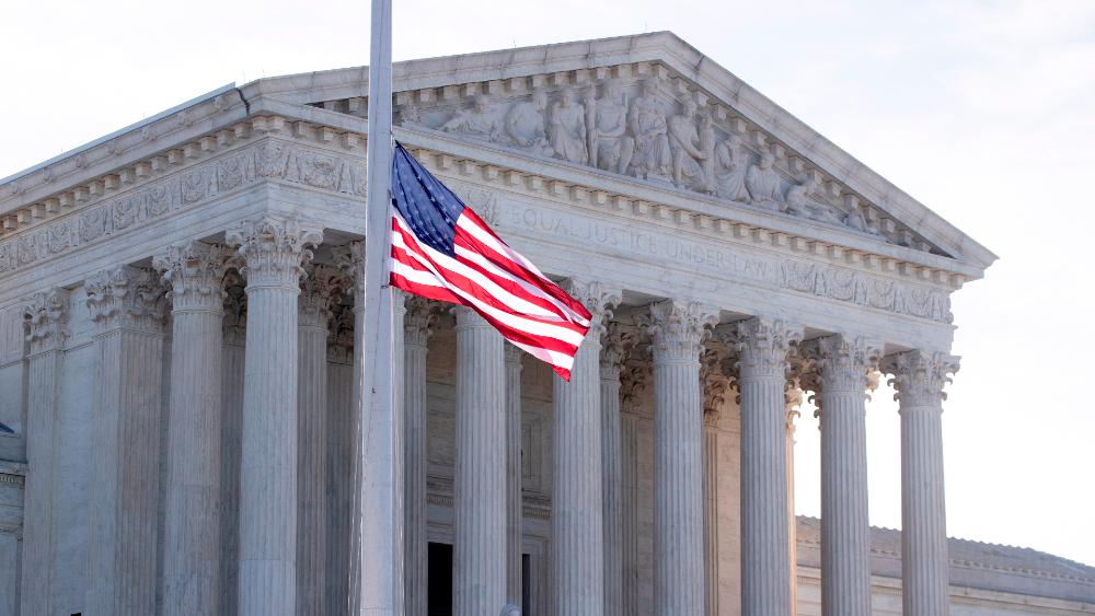 Alertan por amenaza de bomba en la Corte Suprema de EE.UU. - Foto de EFE