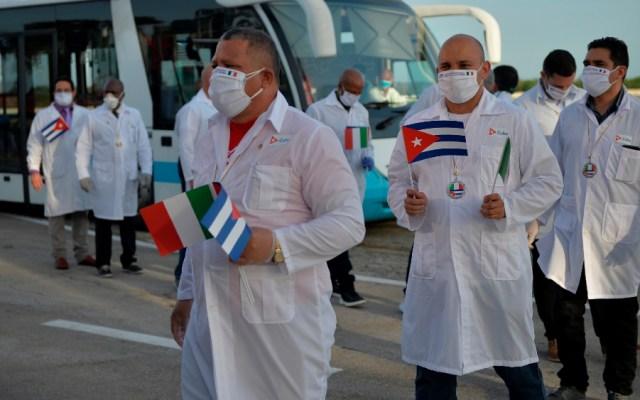 """La diplomacia cubana de las """"batas blancas"""" cumple 15 años - Foto de EFE"""