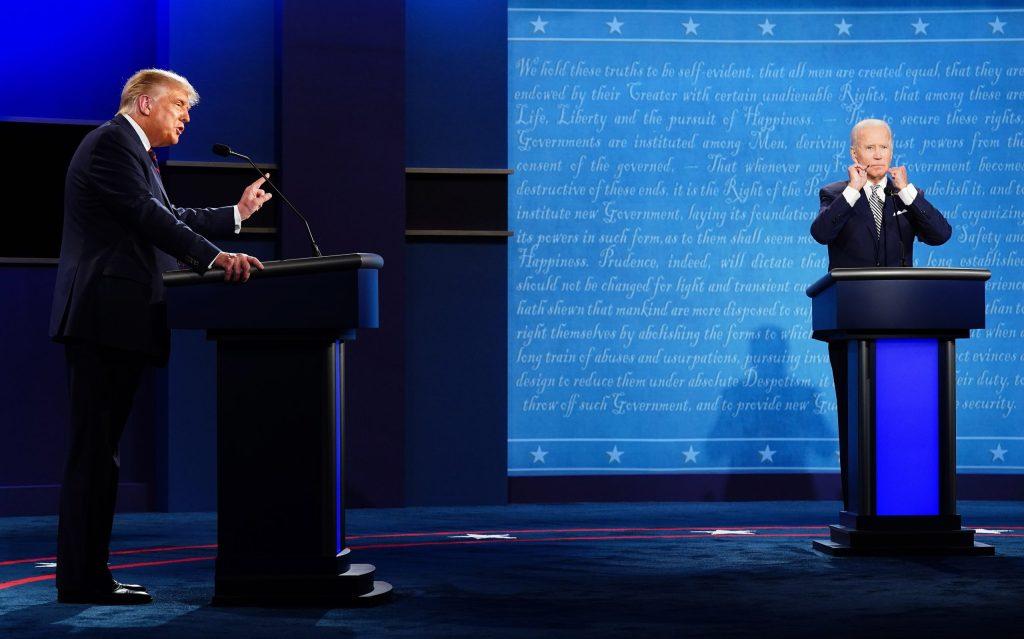 Cancelan segundo debate presidencial entre Trump y Biden - Foto de EFE/EPA/JIM LO SCALZO.