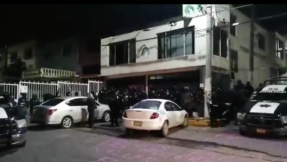 AMLO afirmó no tener información sobre desalojo de mujeres en Codhem de Ecatepec; pide que no se les haga daño - Foto de @manadaperiferia