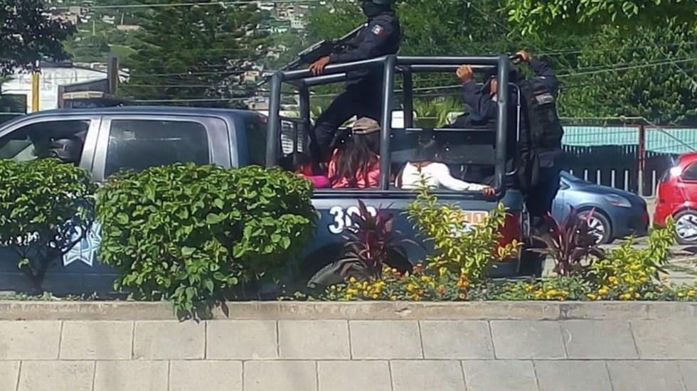 Detienen en Chilpancingo a 35 jóvenes que fingían ser normalistas para tomar casetas - Foto de El Informador