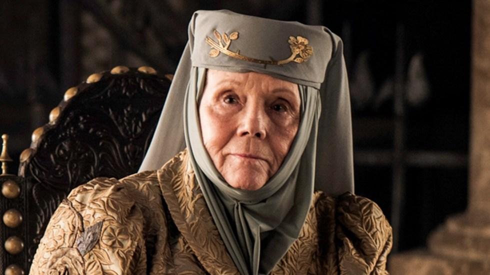 Murió a los 82 años la actriz Diana Rigg, Olenna Tyrell en 'Game of Thrones' - Foto de Juego de Tronos.com