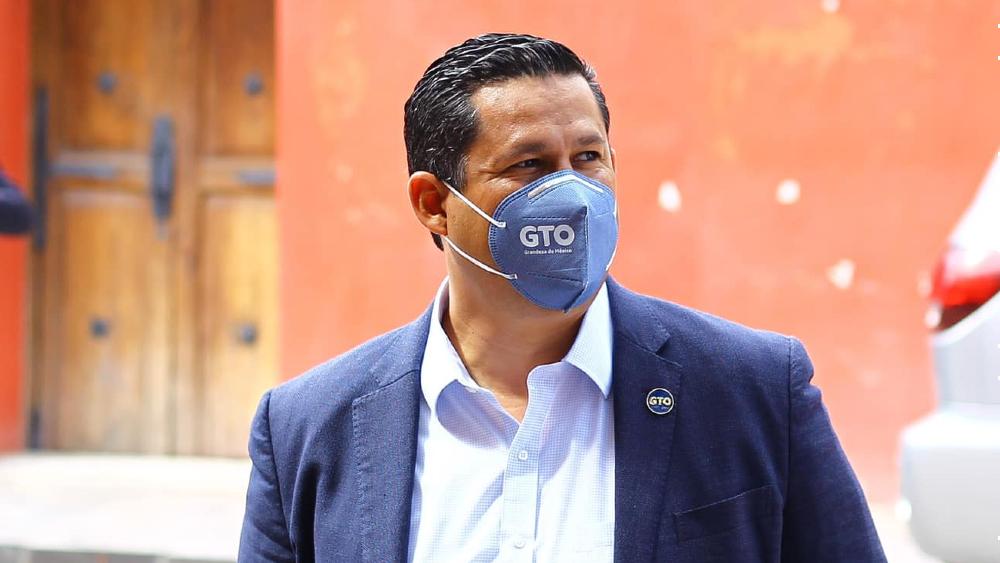 Hospitalizan a Diego Sinhue Rodríguez, gobernador de Guanajuato, por COVID-19; se mantiene estable - Foto de Diego Sinhue Rodriguez