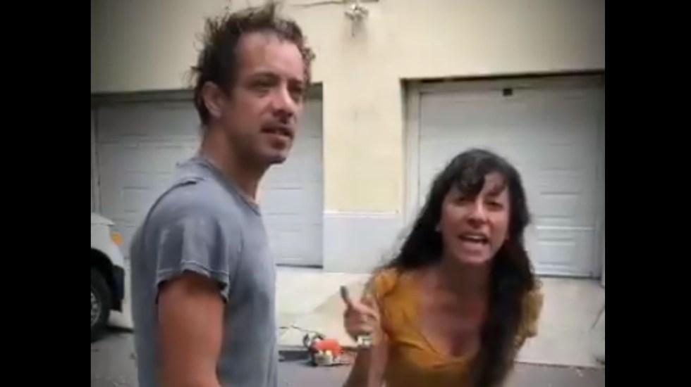 """#Video """"India horrible"""": mujer argentina discrimina a vecina en la Cuauhtémoc - Discriminación Ciudad de México argentina"""