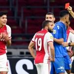 Ajax gana pese a la expulsión del mexicano Edson Álvarez - Foto de EFE